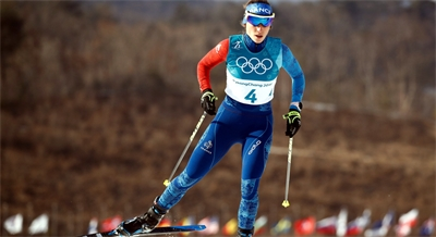 Delphine CLAUDEL, Ski